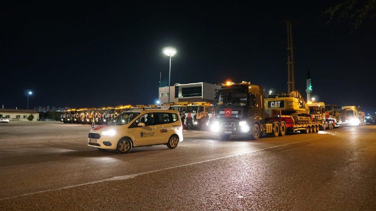 Ankara Büyükşehir Belediyesi'nden selzedelere yardım eli