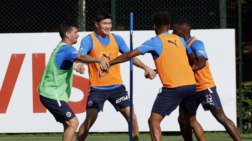 Fenerbahçe'de Min-Jae Kim ilk idmanına çıktı