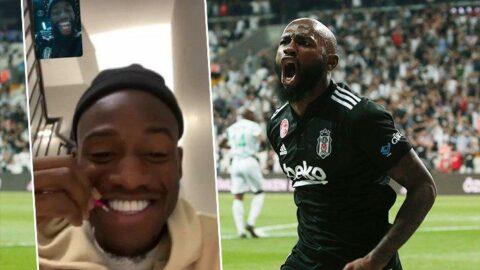 Beşiktaş taraftarını coşturan N'koudou-Batshuayi görüşmesi