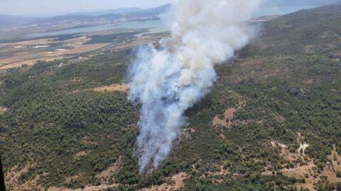 İzmir'de bir günde 3'üncü yangın
