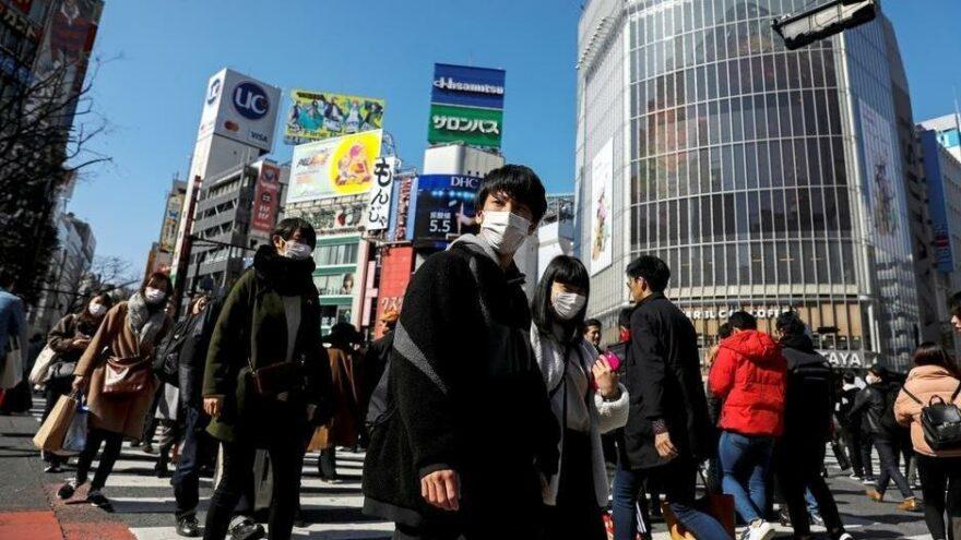 Japonya'da vaka sayısı iki gün üst üste 20 bini aştı