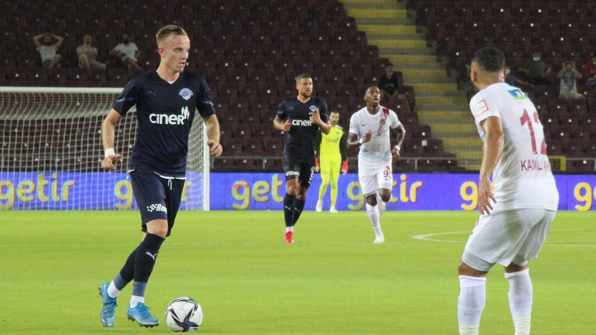 Ligin ilk haftasında Hatayspor ile Kasımpaşa yenişemedi