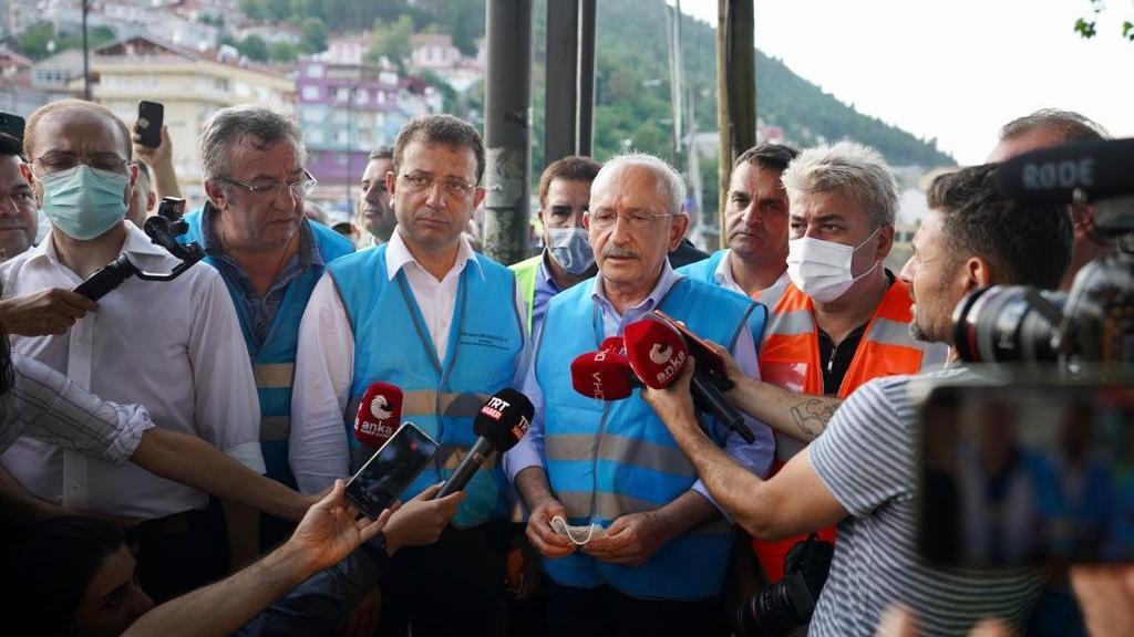 Kılıçdaroğlu Sinop'tan seslendi: İnsanlar hayatını kaybettikten sonra önlem almanın bir yararı yoktur