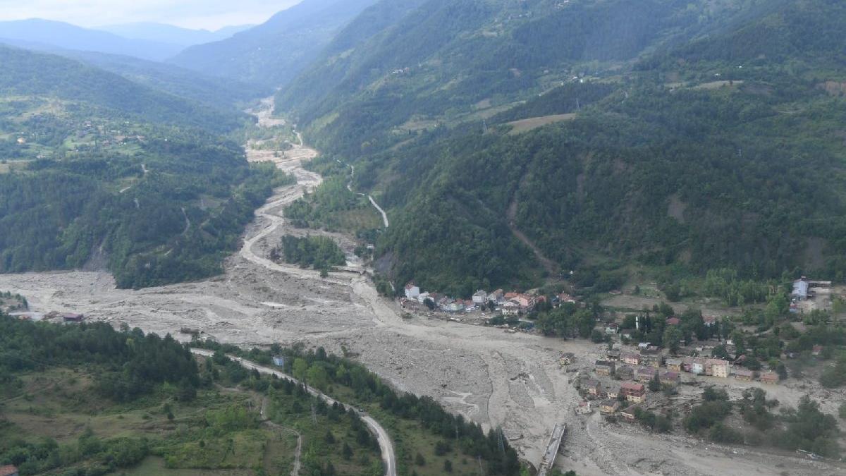 Tomruk faciası: Ayancık'ta bir köyde 47 bina yıkıldı