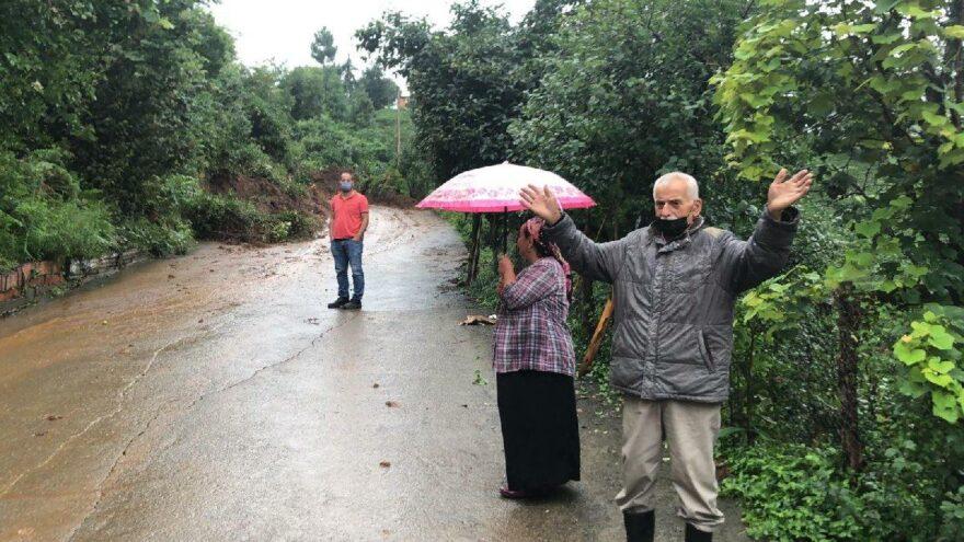 Rize'de 48 köy yolu ulaşıma kapandı
