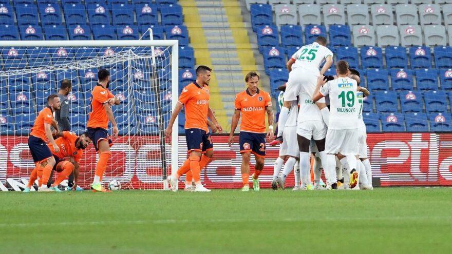Medipol Başakşehir Aytemiz Alanyaspor maçında tek gol