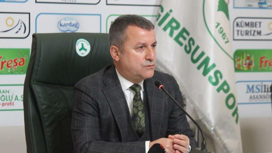 Hakan Karaahmet: Giresunspor şova hazır