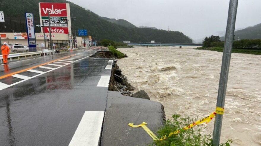 Japonya'da sel felaketinden ölenlerin sayısı artıyor