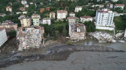 Sel felaketinde bir müteahhit için gözaltı kararı