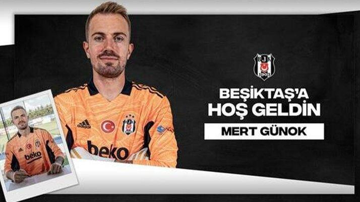 Beşiktaş'ta Mert Günok transferi resmen açıklandı!