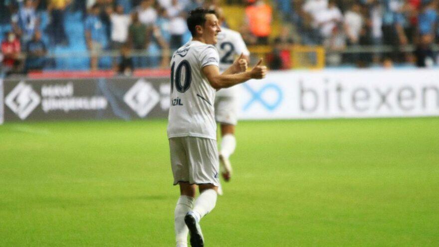 Sosyal medyada Mesut Özil çılgınlığı! Hem sezonun hem kendinin ilk golünü attı
