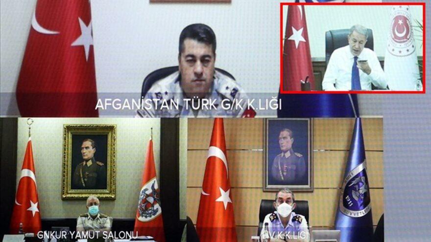 Bakan Akar: Kabil'deki personelin güvenliği birinci önceliğimiz
