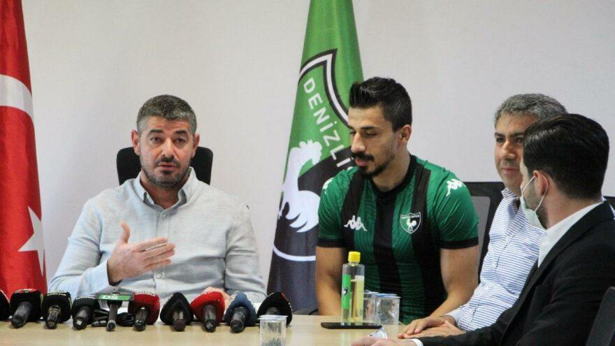Denizlispor'da transfer yasağı kalktı, ilk transfer açıklandı