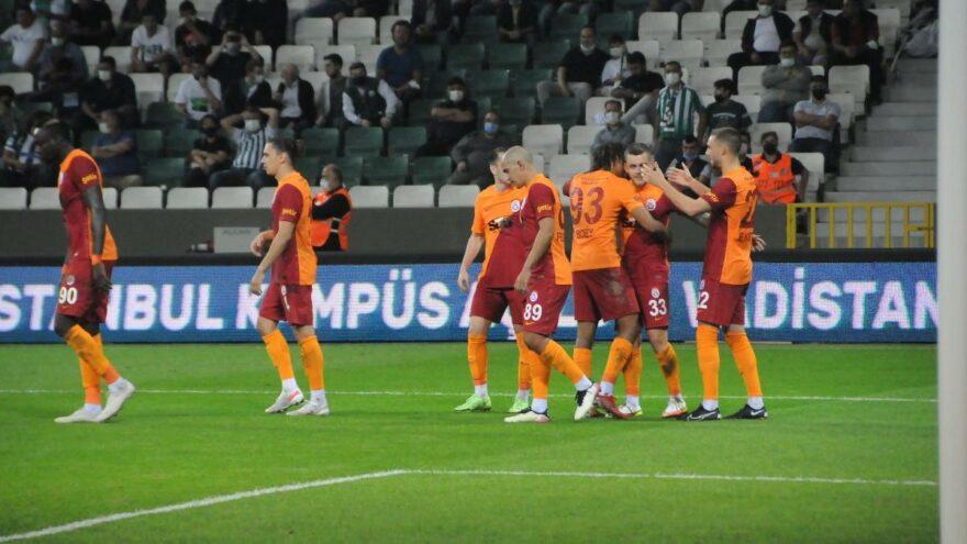 Galatasaray Giresun'da galibiyetle başladı ama tatlar kaçtı: 0-2
