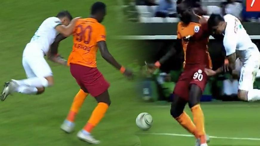 Hüsamettin Tut, Galatasaray maçında 7 dakikada 2 penaltı yaptırdı, atıldı!