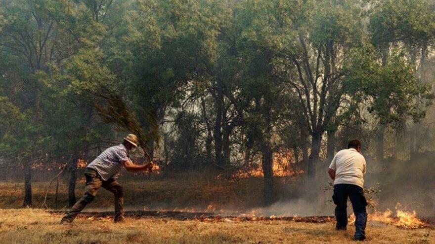 İspanya'da yılın en büyük yangını