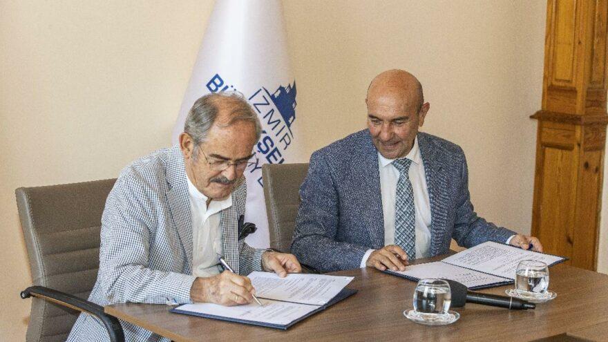 Eskişehir ve İzmir Büyükşehir Belediyeleri afet için bir araya geldi