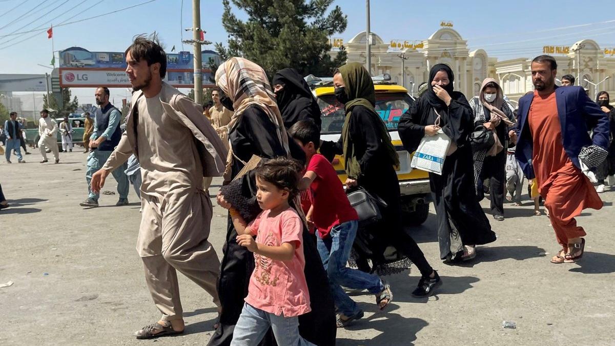 Canlı: Taliban'dan kaçış! Afganistan'da son durum...