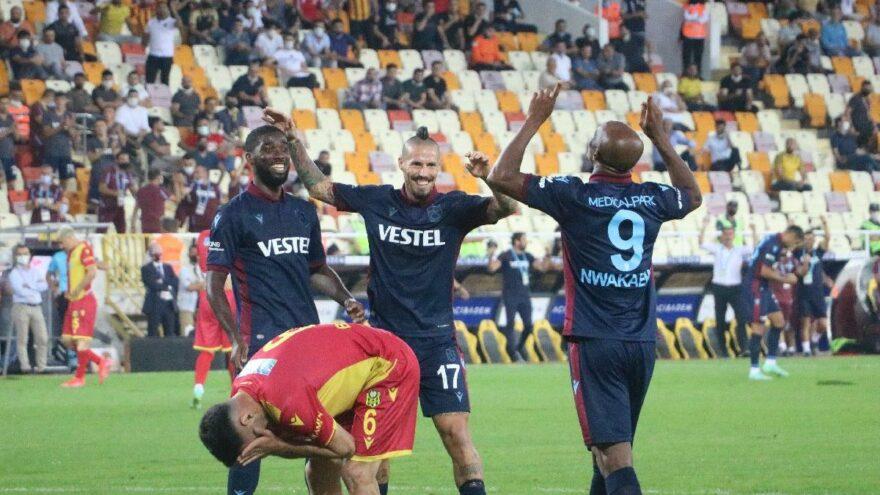 Trabzonspor yeni sezona Fırtına gibi başladı! Yeni Malatya karşısında farklı galibiyet…