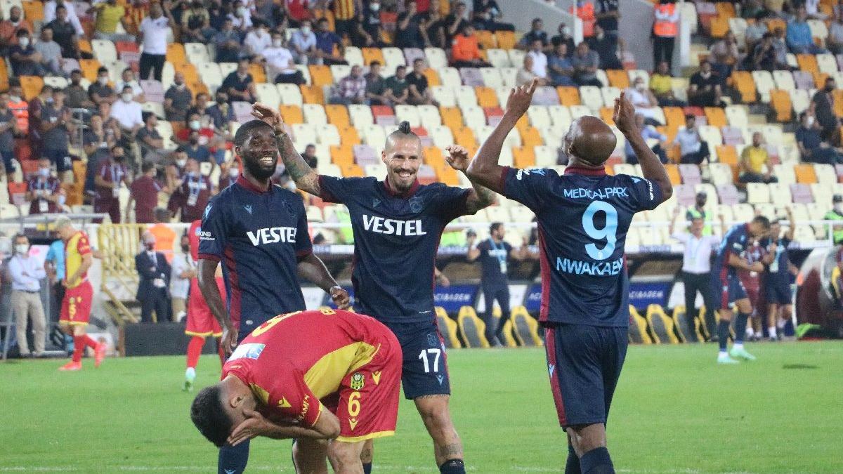 Trabzonspor yeni sezona Fırtına gibi başladı! Yeni Malatya karşısında farklı galibiyet...