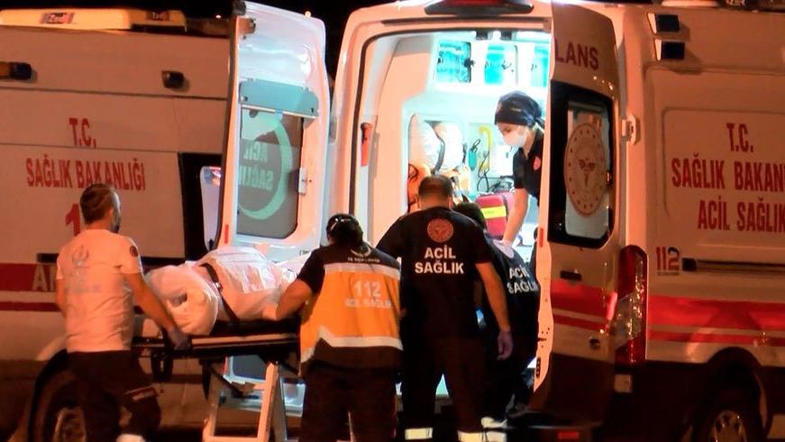 Lübnan'daki patlamada yaralanan 3 kişi Ankara'ya geldi