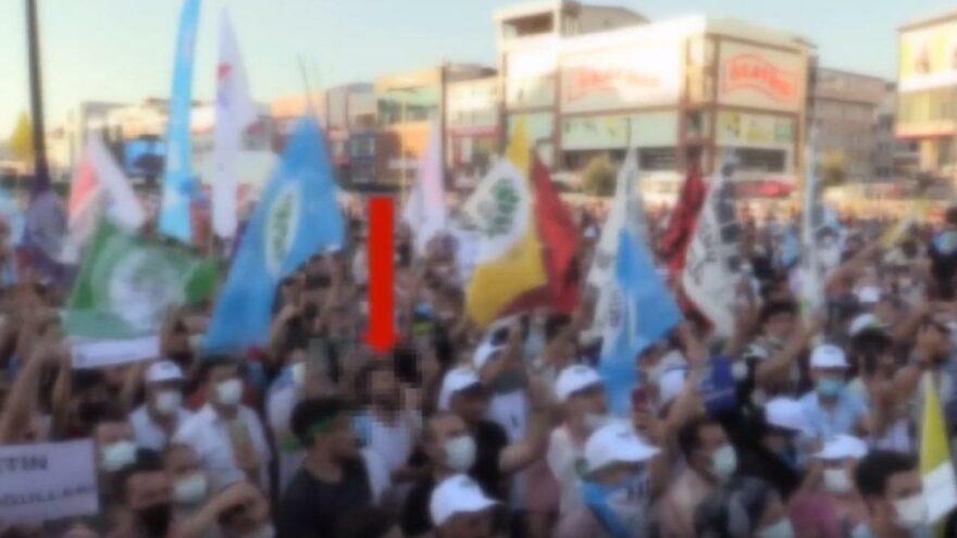 Terör örgütü lehine slogan atmaktan gözaltına alınanlar serbest kaldı