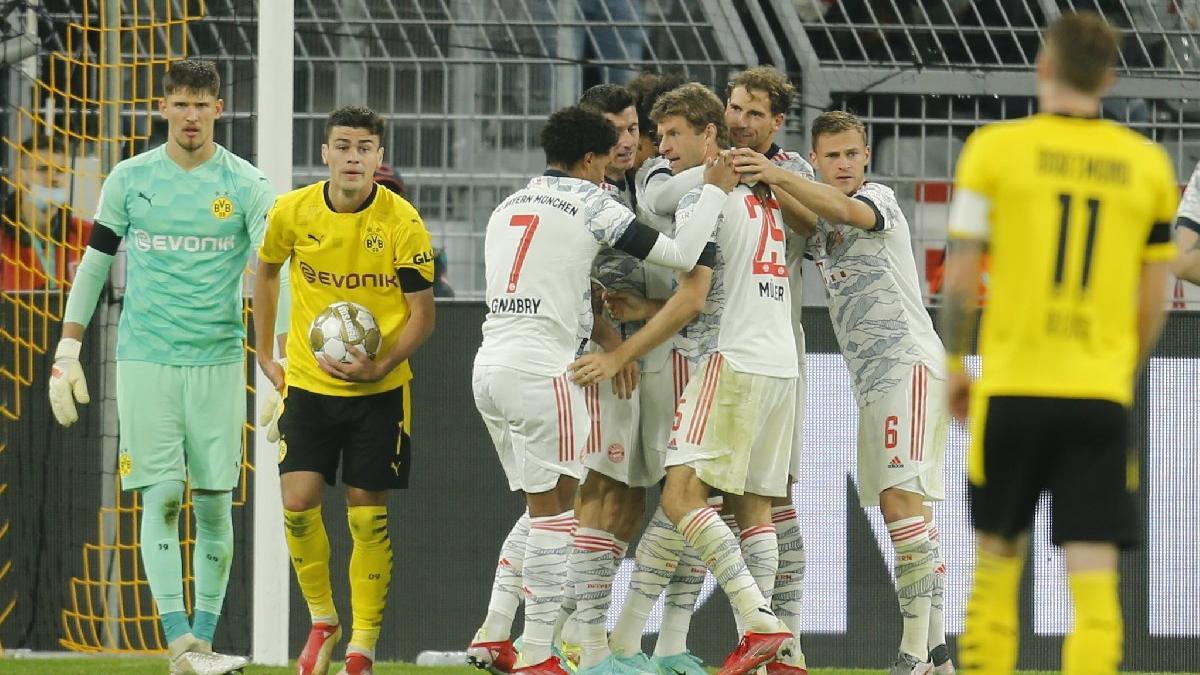Borussia Dortmund'u deviren Bayern Münih, Almanya Süper Kupası'nın sahibi: 1-3