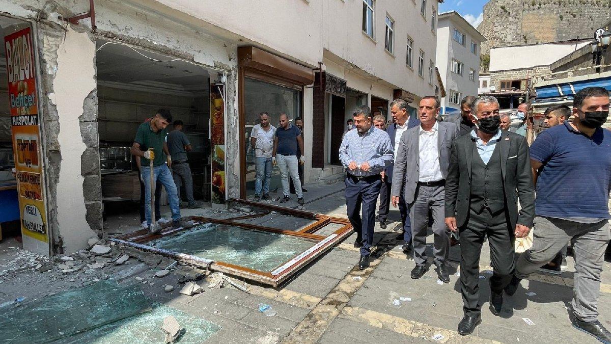 CHP'li Ağbaba: İktidar İsrail'in Filistin'e yaptığını Bitlis'te halka yapıyor