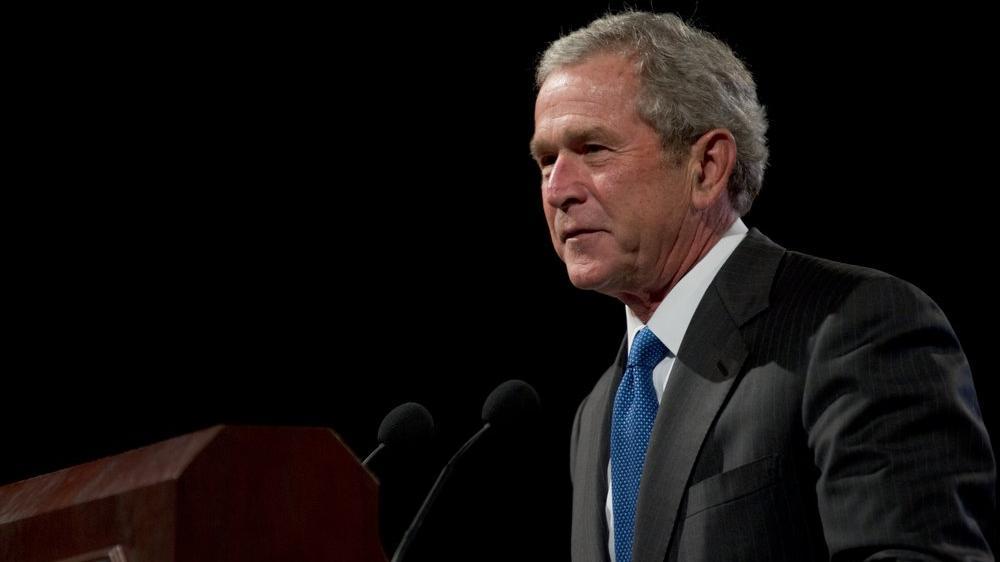 Afganistan işgalinin mimarı George W. Bush konuştu
