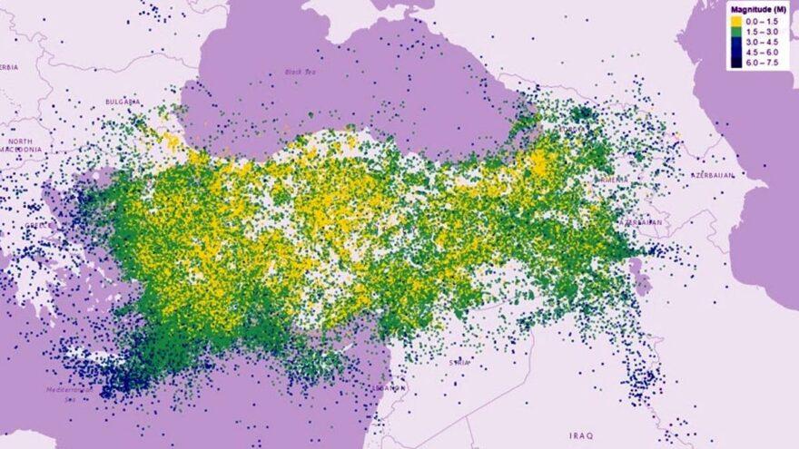 Türkiye'de son 10 yılda 279 bin 357 deprem oldu: İlk sıralarda Van, Muğla ve Manisa var