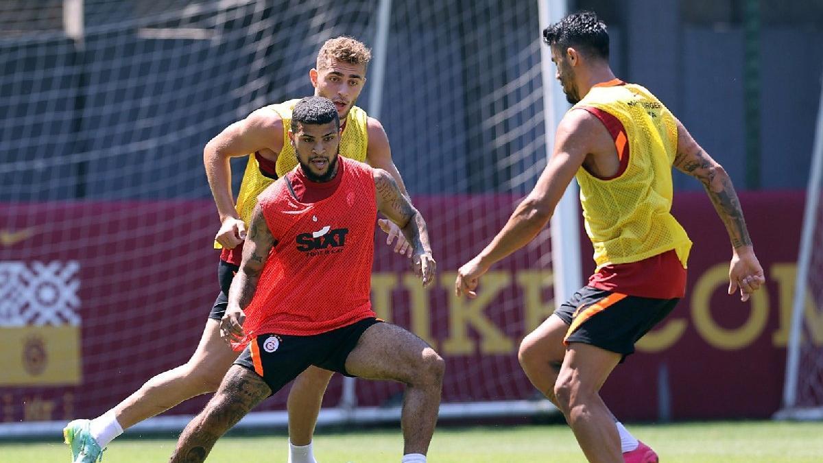 Galatasaray'da Randers maçının hazırlıklarına Marcao katılmadı