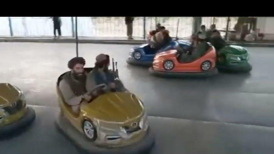 Lunaparkı ele geçiren Taliban'ın şaşkına çeviren görüntüleri ortaya çıktı
