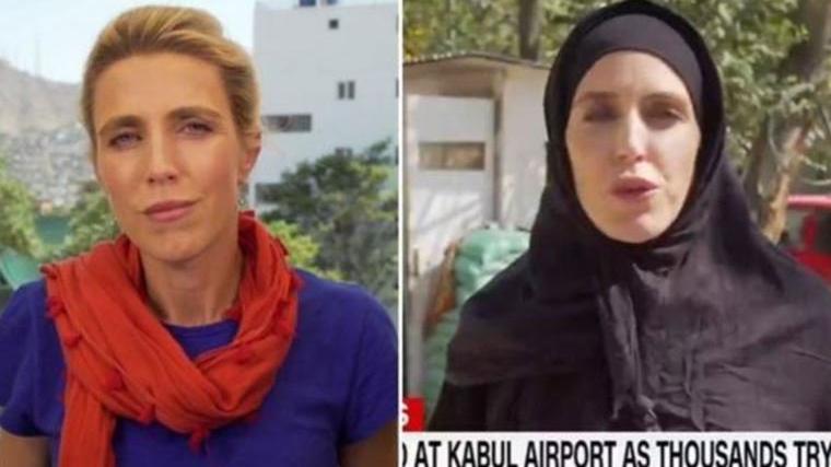 CNN muhabirinin değişimi sosyal medyada gündem oldu: İddialara açıklık getirdi