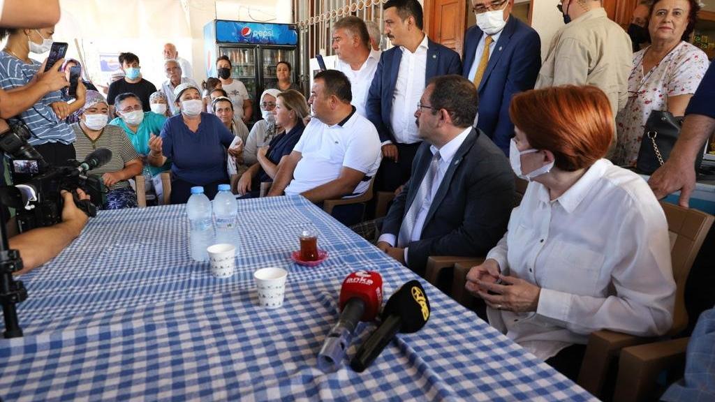 Köylü kadınlar Erdoğan'ı Akşener'e şikayet etti