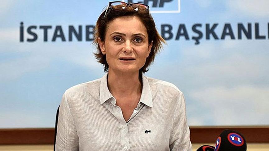 Canan Kaftancıoğlu sosyal medya paylaşımları nedeniyle ifade verdi
