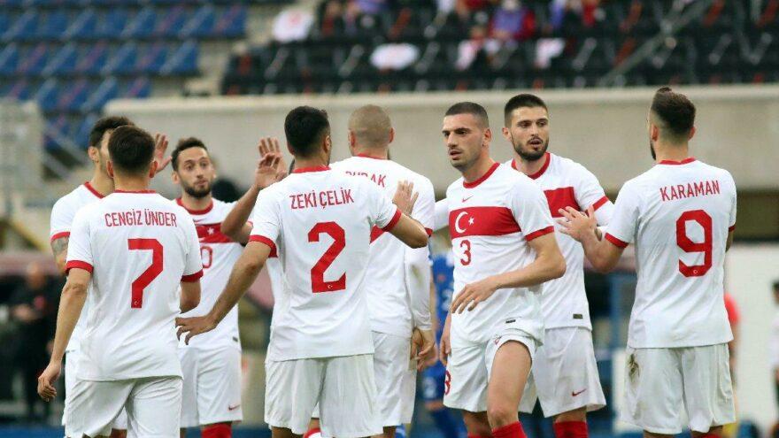 Türkiye A Milli Futbol Takımı'nın Eylül ayı programı belli oldu