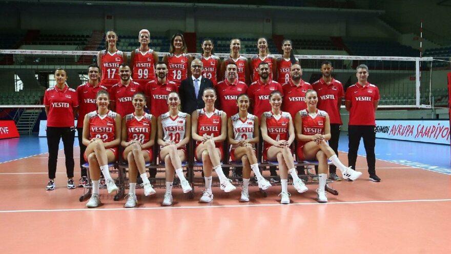 Filenin Sultanları Avrupa Voleybol Şampiyonası'nda ilk sınavına çıkıyor