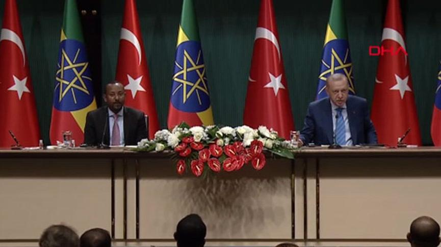 Cumhurbaşkanı Erdoğan: FETÖ'nün Etiyopya'daki tüm okulları Maarif Vakfı'na devredildi