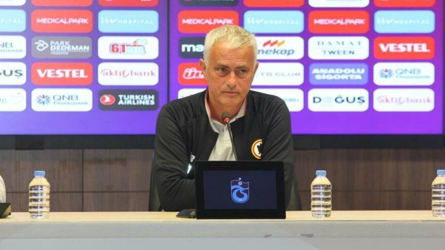 Jose Mourinho'dan Trabzonspor yorumu: 'Konferans Ligi maçına benzemiyor'