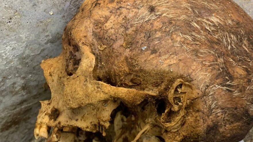 Pompeii'de şimdiye kadar en iyi korunmuş insan kalıntısı bulundu