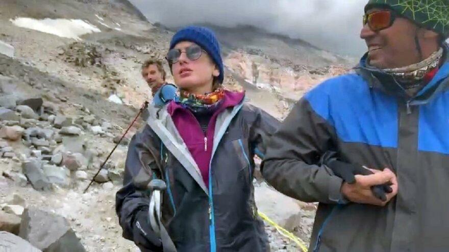 Görme engeli Ağrı Dağı'na çıkmasını engellemedi