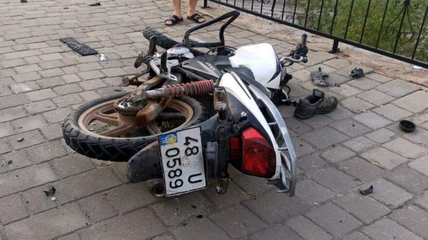 Kazada yaralanan belediye personeli yaşamını yitirdi
