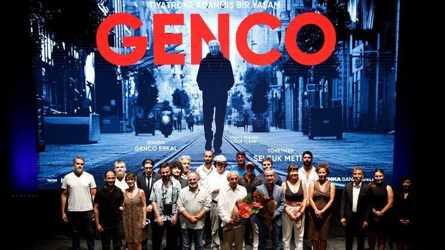 """Usta ismin hayatını anlatan """"Genco"""" seyirciyle buluştu"""