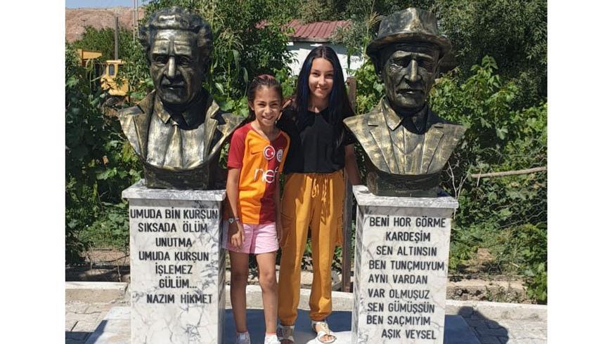 Türk kadınından Atatürk'e teşekkür