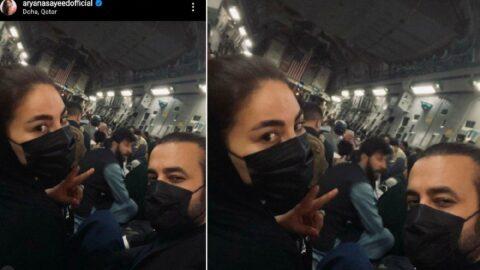 Afgan Popstar kargo jetiyle Türkiye'ye kaçtı