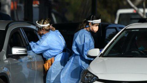 Avustralya'da rekor corona virüs vakası