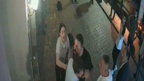 Taksim'de tabanca ve bıçaklı otel baskını