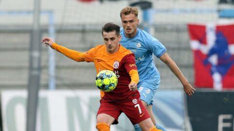 Randers-Galatasaray maçında galip yok (UEFA Avrupa Ligi Play-Off Turu)