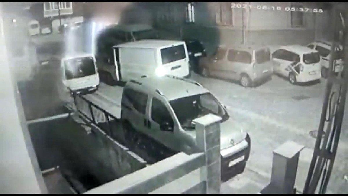 İstanbul'da parça parça hırsızlık