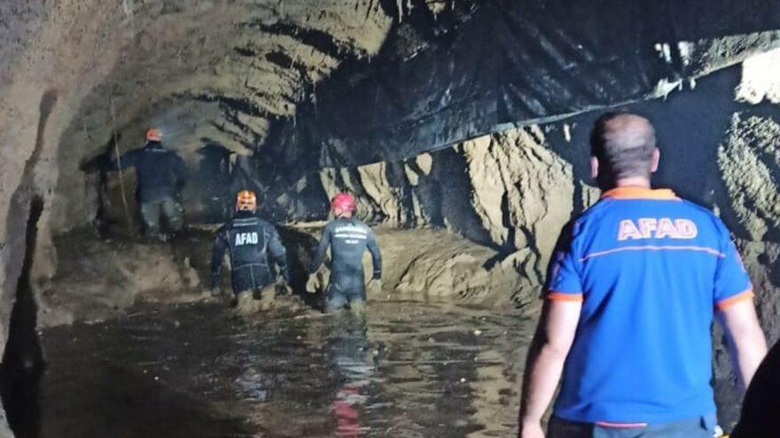 HES tünelinde kaybolan işçiye 15 gündür ulaşılamadı